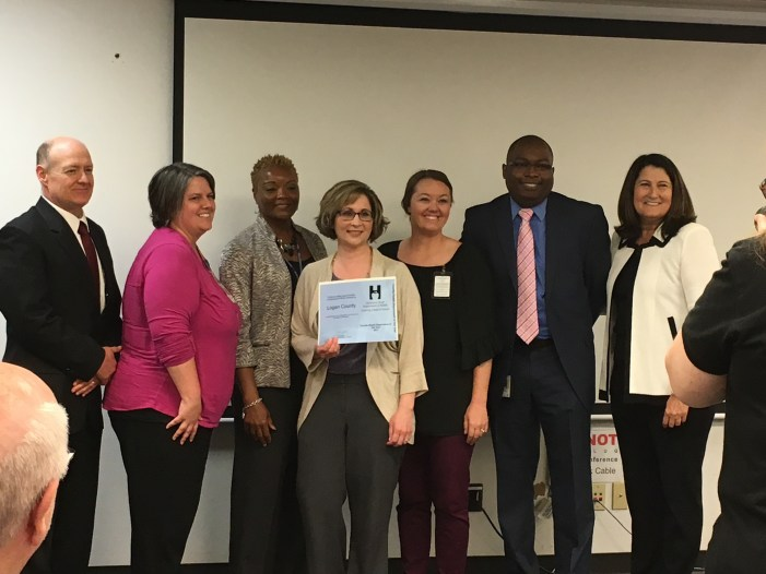 Logan County Health Department namedCounty Health Department of the Year