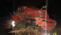 Pursuit ends in crash; man leaves injured girlfriend behind