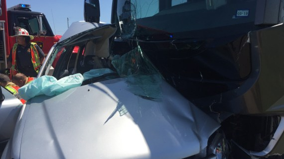 Update: Two killed in SUV and RV accident on Highway 33