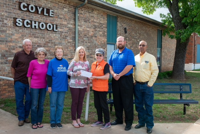 Coyle Christian Church receives grant to purchase shoes