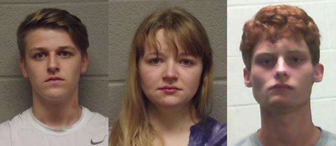 Stolen guns, drugs and cash found inside Guthrie apartment