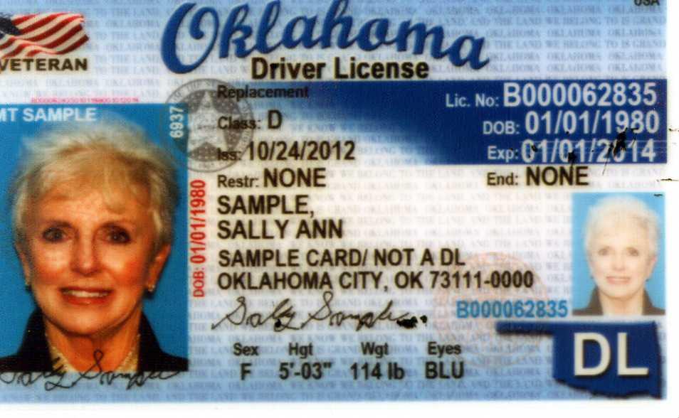 Broken arrow drivers license