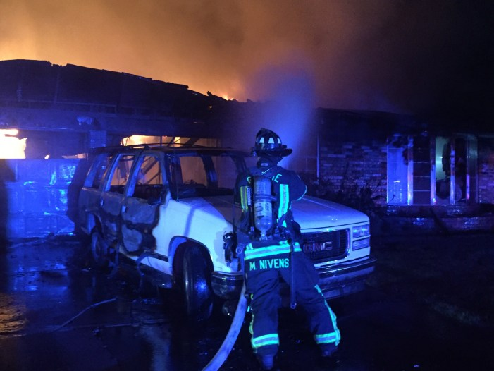 Video: Homeowner escapes home full of smoke, flames