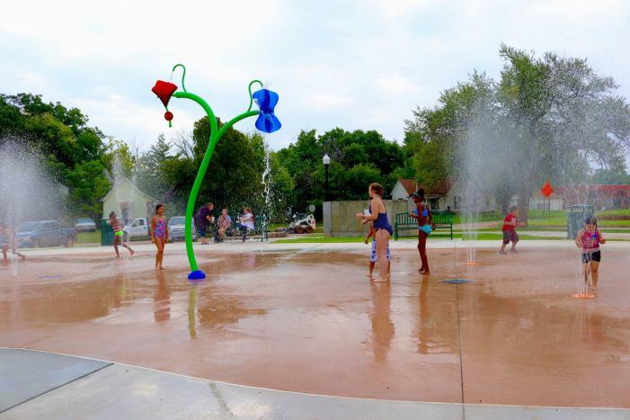 City of Guthrie opens Banner Park, first splash pad