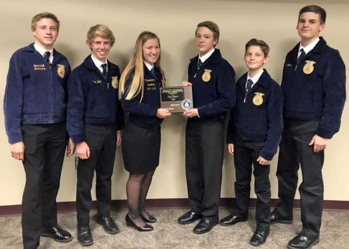 Guthrie FFA takes regional opening ceremony contest