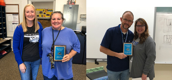Clymer, Blackburn named GPS employees of the month