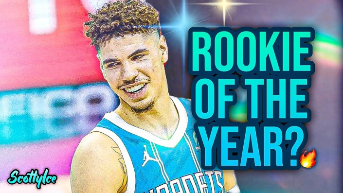 LaMelo Ball named NBA Rookie of the Year…