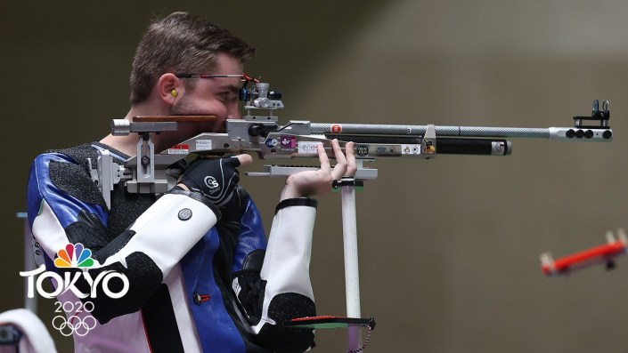 American sets Olympic record in 10m air rifle…