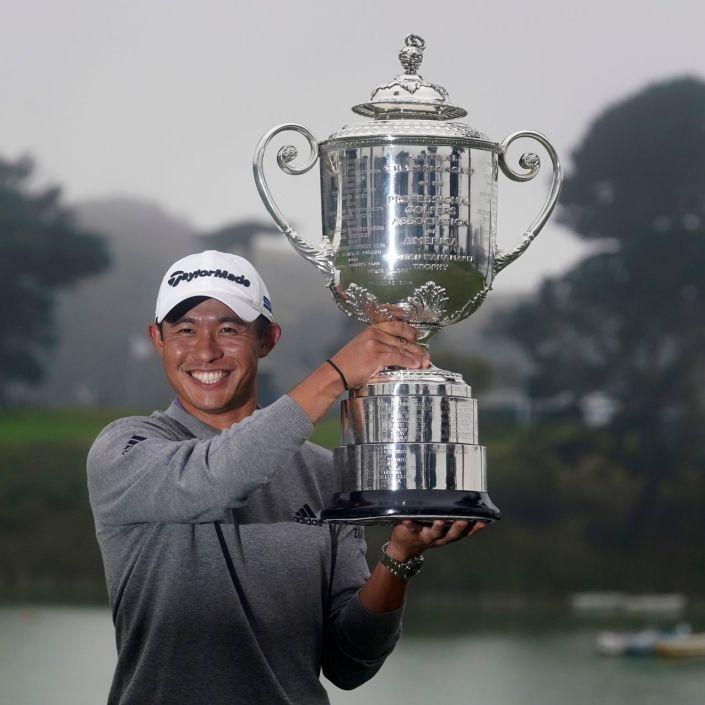 Collin Morikawa wins The Open Championship…