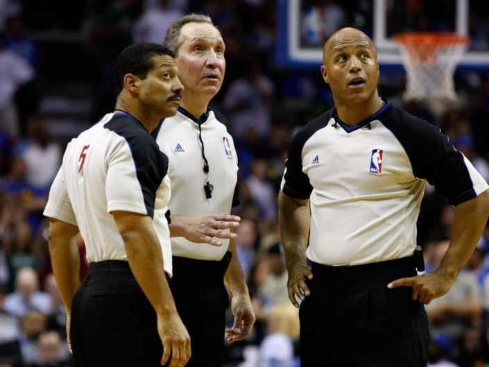 NBA rigged moments…