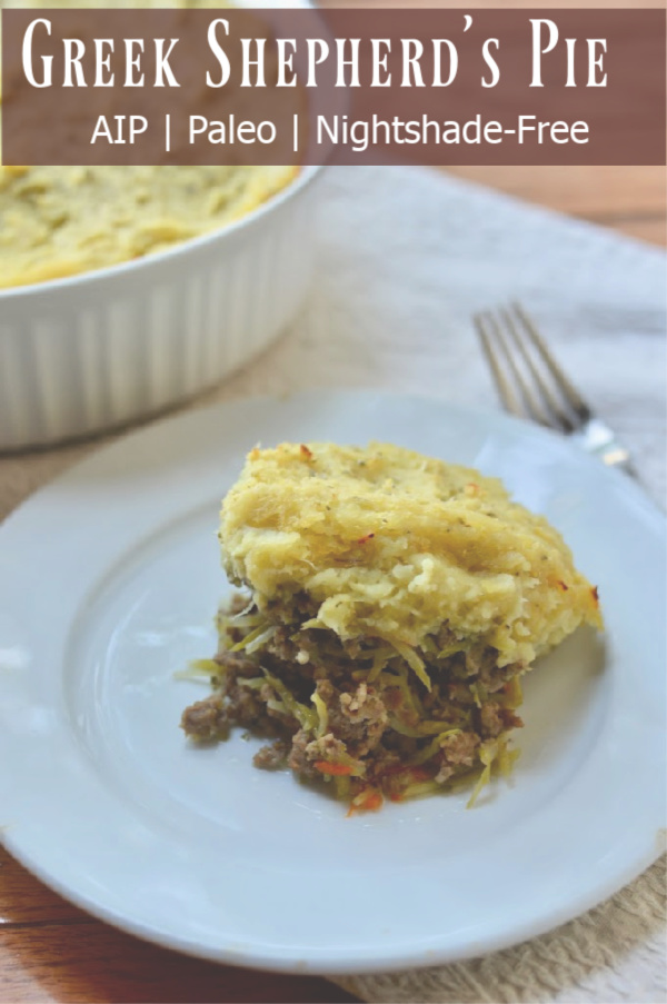 AIP Greek Shepherd's Pie