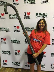 Jennifer with GCB Tool at Small Bus Expo 4 e1563388438844