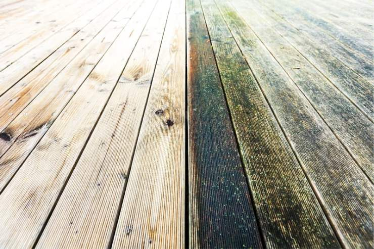 power wash deck can destroy soft wood gutter king wichita soft wash deck cleaning Home Maintenance Practices That Hurt