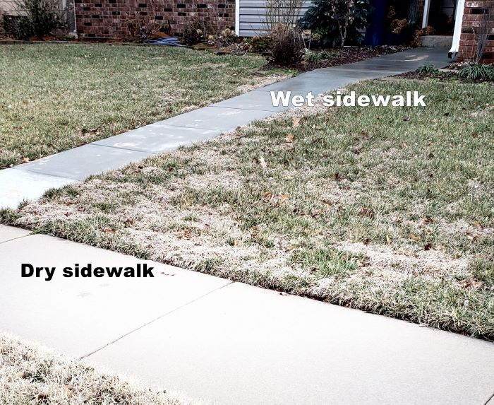 ice removal sidewalk home maintenance wichita ks