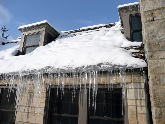 ice dam home maintenance wichita ks
