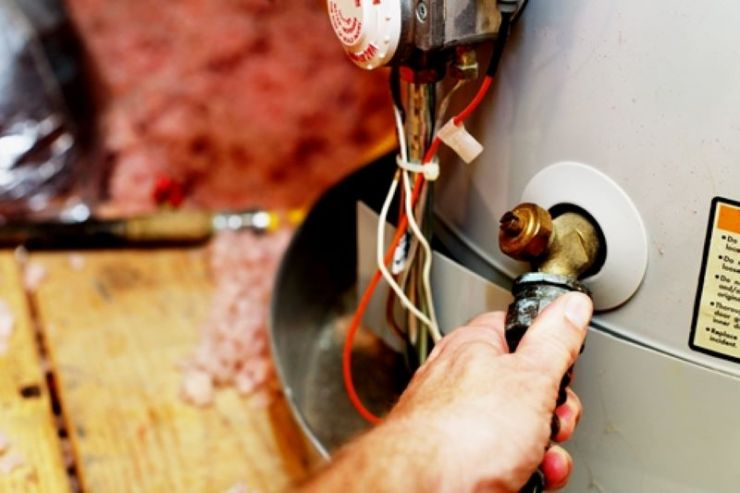 home maintenance water heater