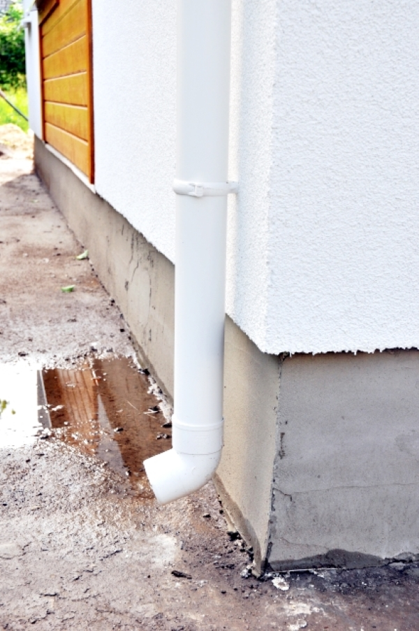 a missing splash block gutter cleaning wichita