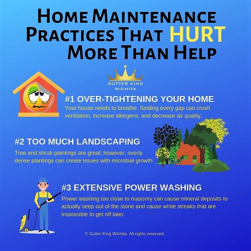 home maintenance gutter cleaning wichita