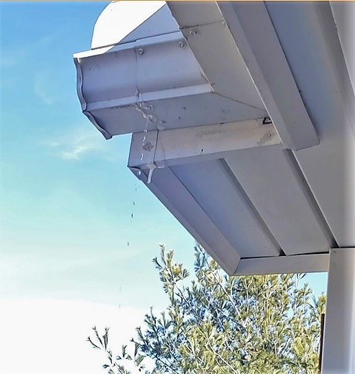 why are my gutters dripping gutter cleaning wichita