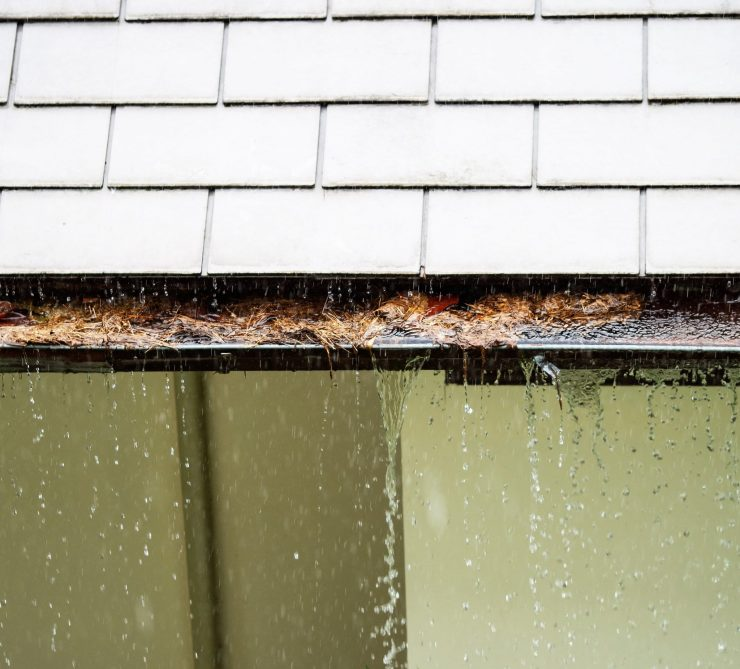 gutter overflow can damage your home gutter cleaning wichita gutter king wichita