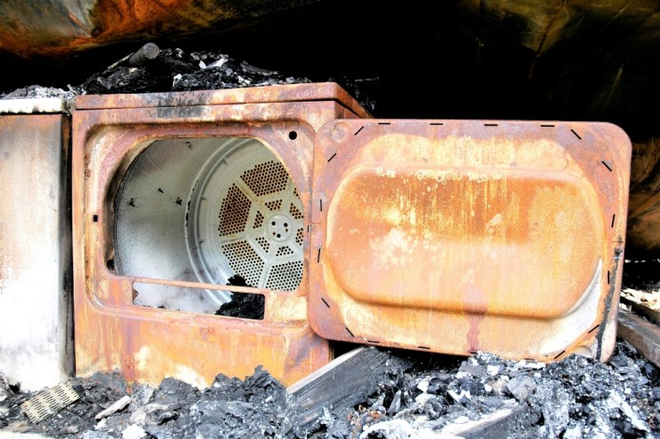 Clean Your Dryer Vent clothes dryer fire