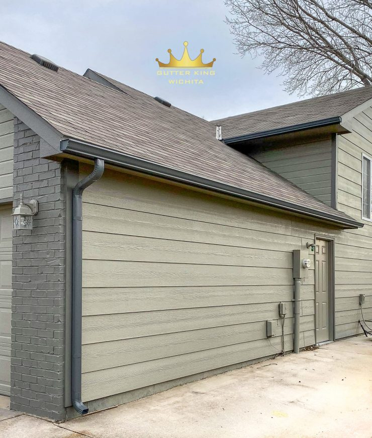 We provide you with the best seamless guttering and gutter cleaning in Wichita