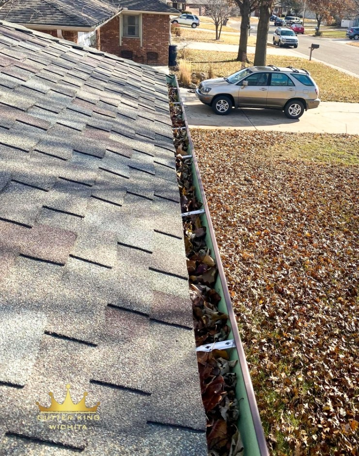 premium affordable gutter guards gutter king wichita