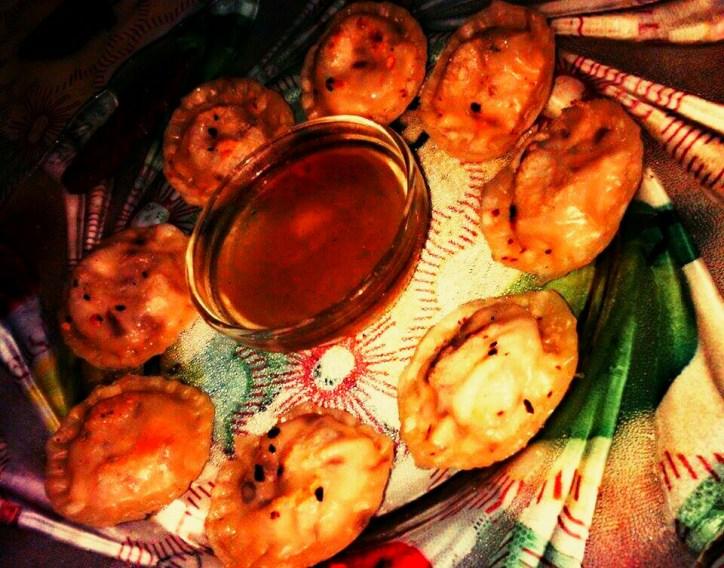 Chicken Momos by Kaushiki and Avilasa #GuwahatiFoodie