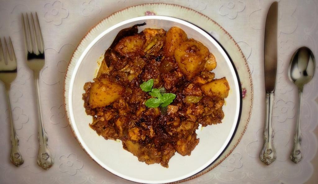 Local Chicken Fry by Nikki A Nereid #GuwahatiFoodie