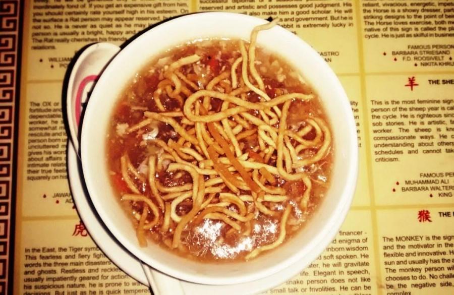 Manchow Soup @ Chung Fa #Guwahati Foodie