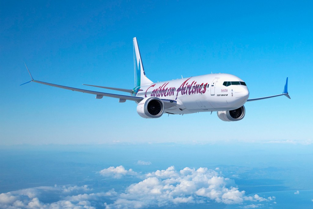 Caribbean Airlines 737MAX8