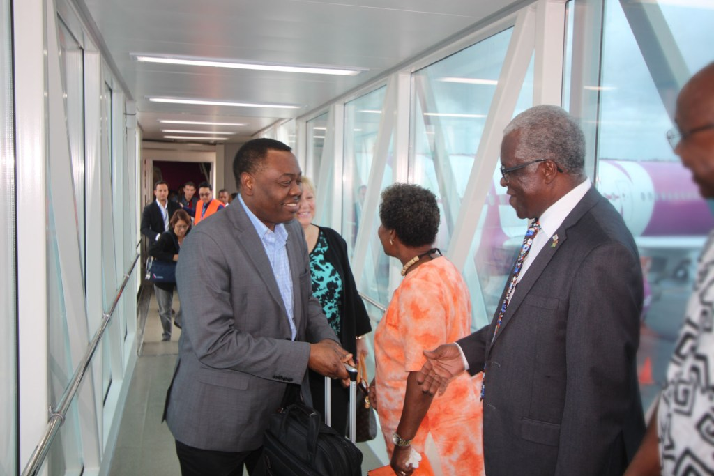 ICAO president arrives in Guyana