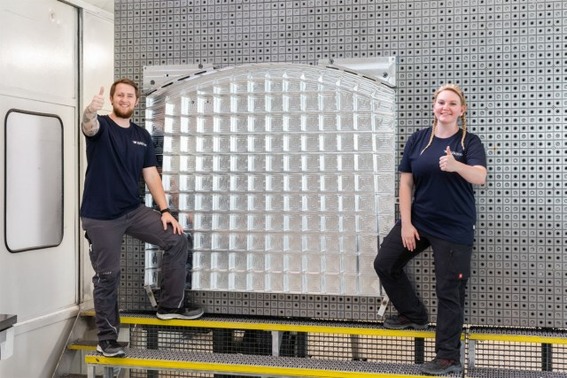 Airbus' manufacturing subsidiary Premium AEROTEC in Augsburg, Germany has commenced production of the first Rear Center Tank (RCT) wall section for the Airbus A321XLR.