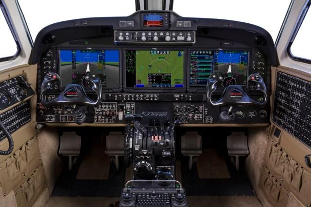 Beechcraft King Air 350 Cockpit