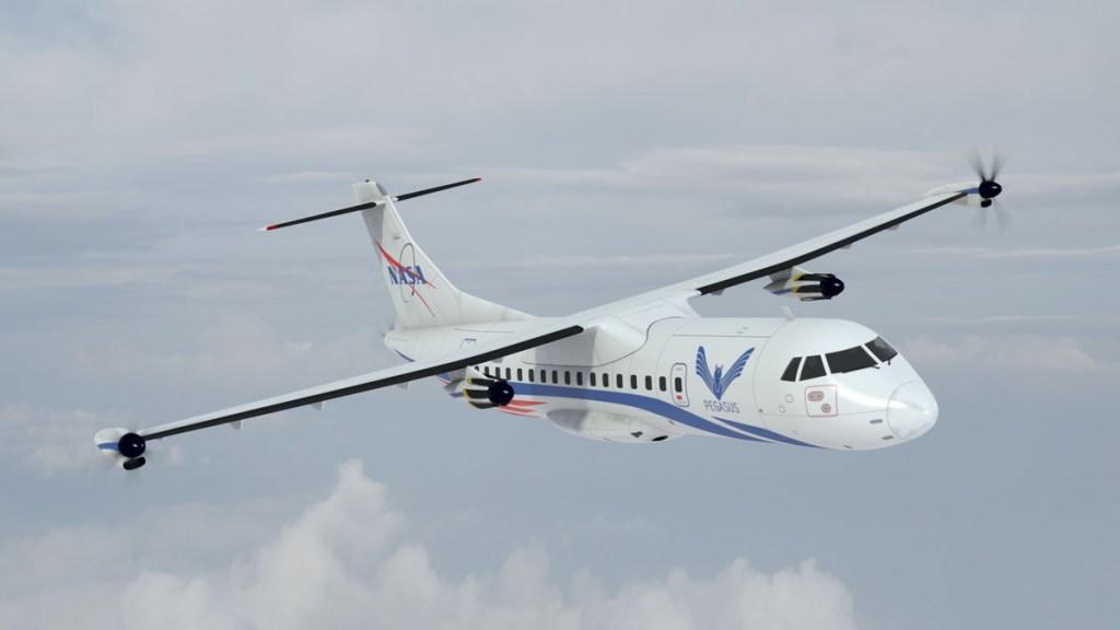 NASA turboprop concept