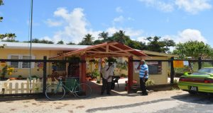 Riverstown Primary School was one of the many polling stations along the Essequibo Coast where scattered voters visited to cast their ballots
