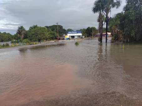 Parts of Lethem Flooded After Heavy Rainfall (Photos)