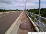 The Takutu River Bridge - Guyana - Brazil Border