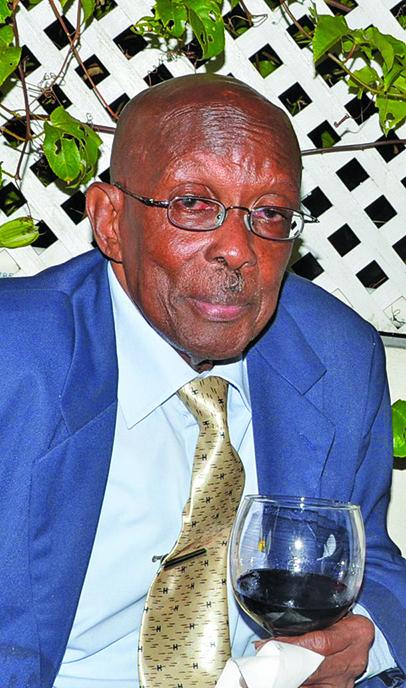 Former Prime Minister Hamilton Green
