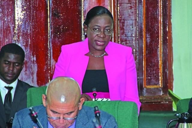 Junior Education Minister Nicolette Henry