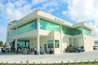 The latest Republic Bank facility at Triumph, ECD