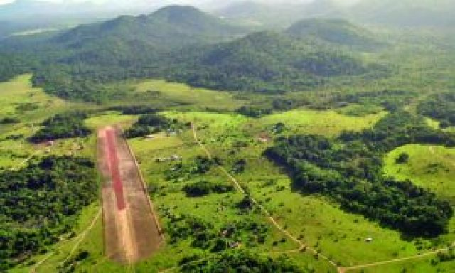 One of Guyana's hinterland airstrips