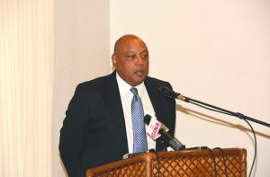 Guyana's Natural Resources Minister Raphael Trotman