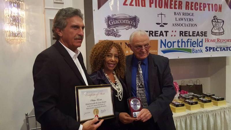 Pioneer Award Winner, Phillipa Morrish