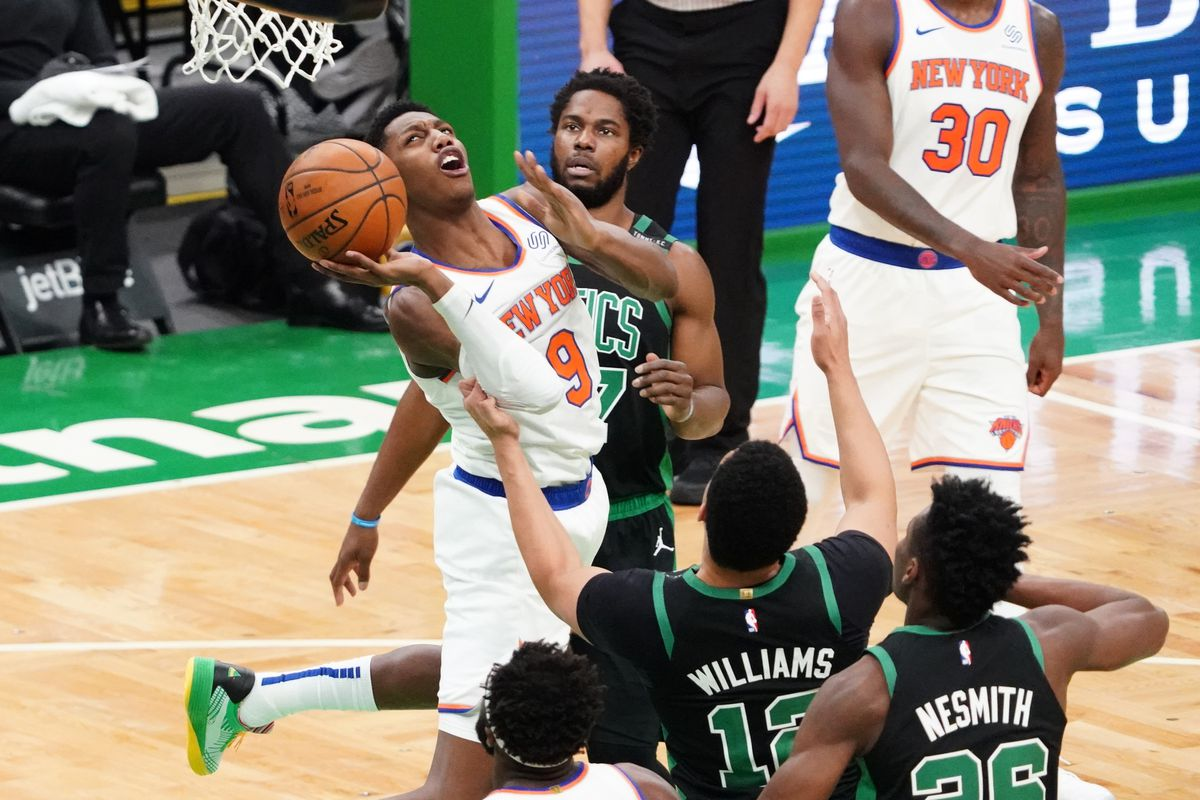 Recap: Jaylen Brown Plays Aggressor, Leads Celtics Past Knicks 101-99