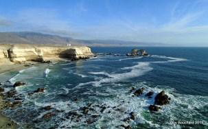 Le rocher d'Antofagasta