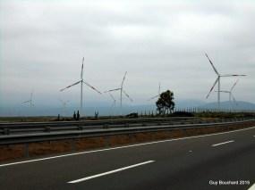 L'éolien est présent au Chili