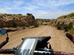 En terrain semi désertique vers Tongoy