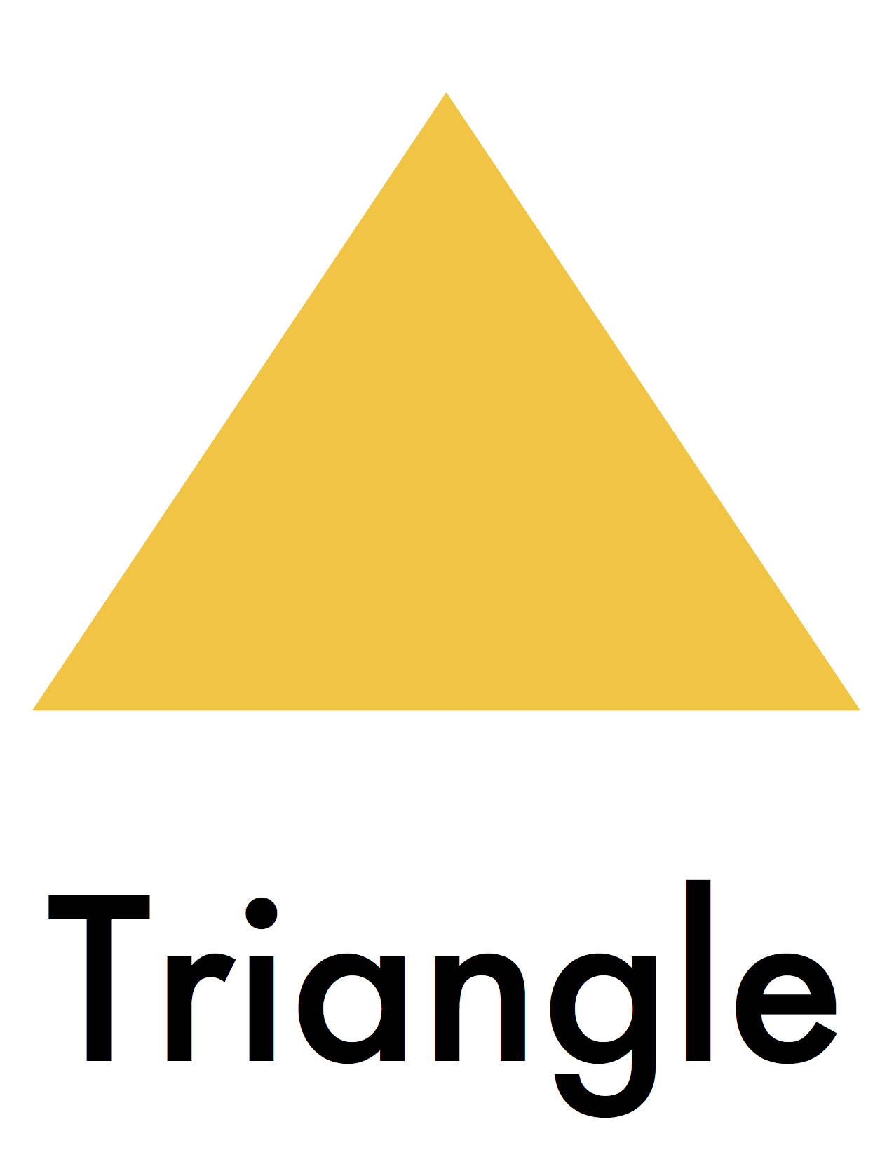 Flashcards Triangle