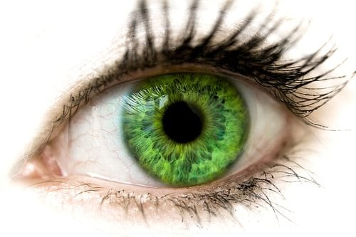 green eyes information